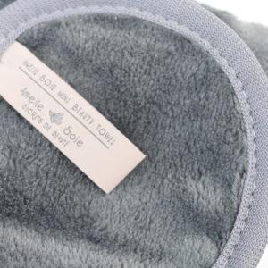Amelie Soie Beauty Mini Towel Label